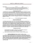 Medical Admission Consent MAC101-###
