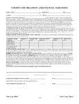 Treatment & Financial Agreement FA101-###